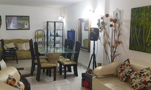 Sala casa los Guaduales