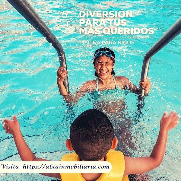 Piscina para niños en Majada