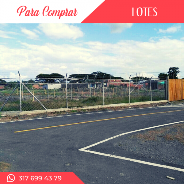 Lotes desde 150mts2