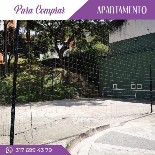 Apartamento en Cañaveralejo cancha de squash