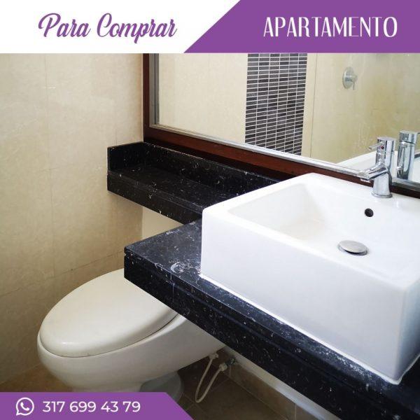 Apartamento en Cañaveralejo baño