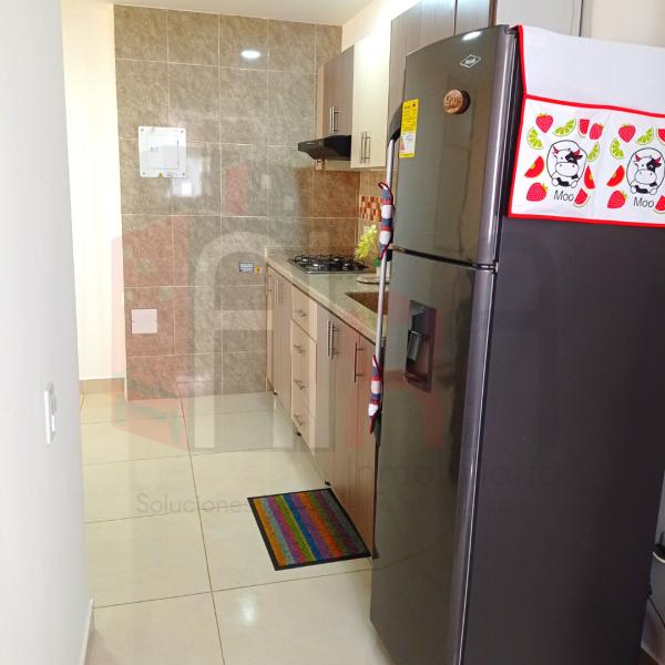 Cocina apartamento en Candelaria